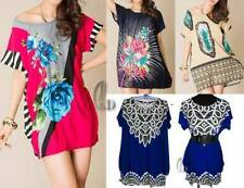 Polyester Short Sleeve Hand-wash Only Floral Tops & Blouses for Women