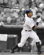New York Yankees ALEX RODRIGUEZ Glossy 8x10 Photo Spotlight Print Poster