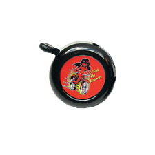Hells Bells Ring-A-Ling Bicycle Handlebar Bell Black Hell on Wheels
