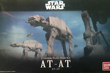 Star Wars - AT-AT 1/144 Bandai Model Kit Empire Strikes Back Brand New USA Selle