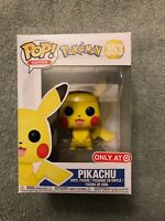 Funko POP! Pokemon PIKACHU #353 Target Exclusive with Soft Protector