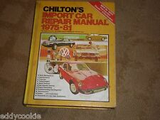 Chilton's Import Car Repair Manual, 1975-81 by Chilton Automotive 1981 Hardcover