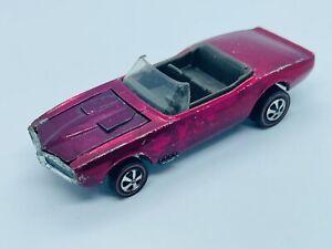 Hot Wheels Redline Custom Firebird Rose/Dark Interior US!! RARE!
