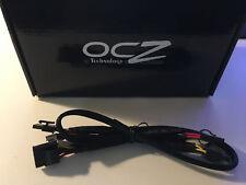OCZ FirePower ZX 850W Series 4-Pin Molex peripheral OEM PSU Cable - 3+1 Floppy