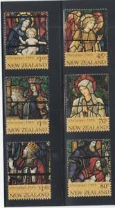 NEW ZEALAND (MM224) # 1304-1309 VF-MNH  VARc,$ 1995 CHRISTMAS STAMPS