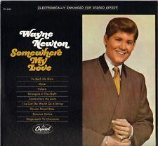 "WAYNE NEWTON ""SOMEWHERE MY LOVE"" POP VOCAL JAZZ 60'S LP CAPITOL 3455"