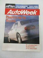 AUTO WEEK MAGAZINE APRIL 11, 1994 EXIDE EX-12 AURA 1995 PORSCHE 911 CARRERA CAR