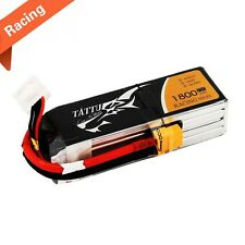 Tattu 1800mAh 14.8V 75C 4S1P Lipo Battery Pack Racing