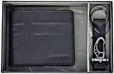 Set Regalo Portafoglio + Portachiavi Uomo Nero Napapijri Set Billfold 8cc Black