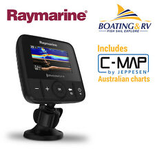 RAYMARINE DRAGONFLY 4 Pro  C Map CARD  Fishfinder Chartplotter CHIRP Combo