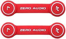 ZERO AUDIO headphone clip Red ZA-CLP-RW 2 pieces