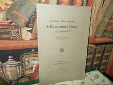 Contribution à l'étude anatomique du bois des arbres et arbustes-M.Legeay-1936.