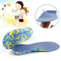 Orthotic Flat Feet Foot Arch Heel Support Shoe Inserts Insoles Pads for Children