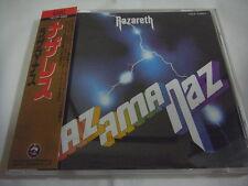 NAZARETH-Razamanaz Japan Press w/OBI Deep Purple Black Sabbath Guns 'n' Roses