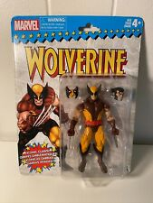 Marvel Legends Retro WOLVERINE in Brown Outfit VHTF MISP Vintage X Men