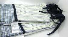Nautica Kids Cribskirt Blue White Green Stripe Plaid Baby Nursery Bedding
