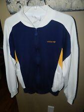 Adidas Trefoil Sweatshirt Track Jacket Mens Size Large Vintage