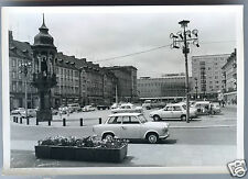 PHOTO ANCIENNE . 1973 . Allemagne .DDR . Magdeburg .Markt mit Magdeburger Reiter