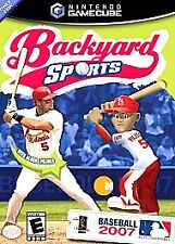 Backyard Sports: Baseball 2007 (Nintendo GameCube, 2007)