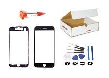Black Front Glass Lens Screen Replacement LCD Digitizer Repair Kit For iphone 7