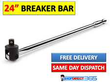 "NEILSEN POWER BREAKER BAR 600mm 1/2""Sq Drive 24"" Long Chrome Vanadium NEW CT0764"