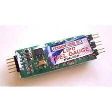 Common Sense RC Lipo Fuel Gauge - Led Voltage Indicator