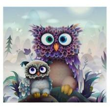 5D Diamond Embroidery Painting Cute Bird Owl Cross Stitch DIY Craft Home Decor