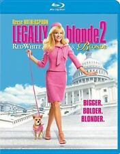 Legally Blonde 2 Red White and Blond 0883904234647 Blu Ray Region a