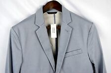 Banana Republic Tailored-Fit Navy Cotton Blazer NWT 38R Birdseye MSRP $169 I55b