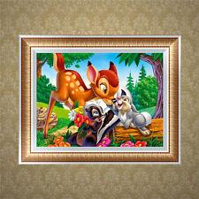 Animal DIY 5D Diamond Embroidery Painting Cross Stitch Craft Kit Home Decor