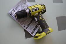 "New 18 volt Ryobi P208 1/2"" Drill use One+ 18v P104 P100 P102 P105 litihum NiCd"