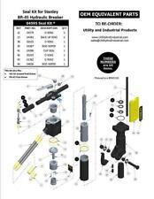Seal Kit - Stanley BR-45 Hydraulic Breaker Seal Kit No. 04595