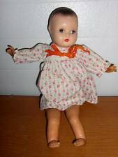 "Horsman Dolls ~ 16"" Marked 1940's Horsman Composition & Latex Doll"