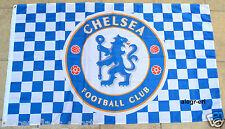 Chelsea Flag Banner 3x5 ft Blues Chekers England Premier Football Soccer