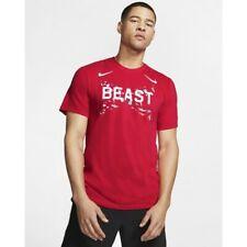 new mens M/medium L/large nike beast T-shirt/top dri-fit Fb/football ao7657-657