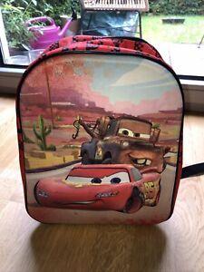 Cars Lightning McQueen Jungen Freizeitrucksack Kinder Rucksack Tasche Rot