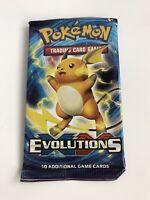 Pokemon TCG XY Evolutions Sealed Booster Pack - Raichu