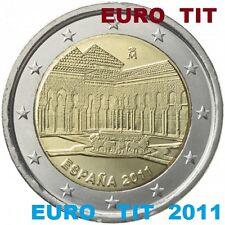 2 €  ESPAGNE  COMMEMORATIVE 2011  1 X  PIECE    L' ALHAMBRA       /   disponible
