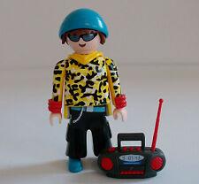Playmobil Series 9 Teenager with Radio Figure