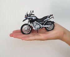 RARE ISRAEL POLICE  motorcycle BMW f650gs SCALE 1:18 MODEL car toy