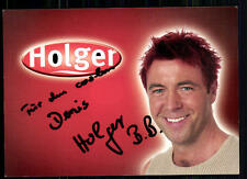 Holger Big Brother Autogrammkarte Original Signiert ## BC 18867