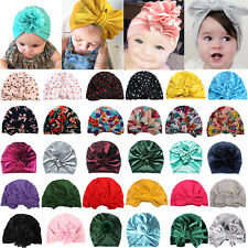 Newborn Toddler Beanies Baby Turban India Hats Stretch Caps Head Wear Warmer