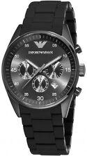 Emporio Armani AR5889 Gunmetal Black Grey Chronograph 43mm Men's Watch