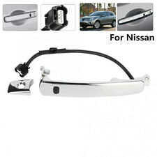 1X Front Left Outside Chrome Door Handle Smart Entry for 2010-2013 Nissan Rogue