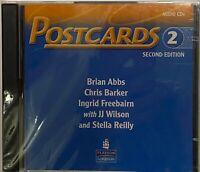 Pearson Longman Postcards 2 Audio CD 2nd Second Edition Student