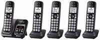 Panasonic KX-TGD564M plus one KX-TGDA51M Bluetooth Cordless Phone - 5 Handsets!