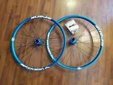 "Spank Spike 28 Race Wheelset with Spoon Hubs 27.5"" 32 Spoke F 20X110 R 10X135"