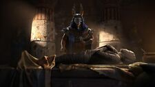 Anubis And Mummy - Ancient Egyptian History Art Photo Poster / Canvas Pictures