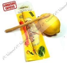Bâton Siwak au Citron Miswak Haute Qualité Lemon Siwak, Siwak de Limón