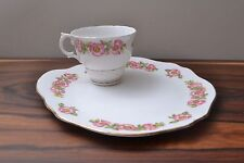 Pretty Floral  Mid Century Vintage Bone China Breakfast Set Made in England